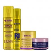 Richée Soul Blond + Clinic Repair + Queratina + RiPlex
