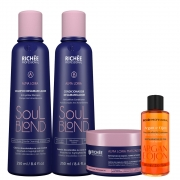 Richée Soul Blond Kit Completo Para Loiro + Óleo Argan E Ojon