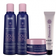 Richée Soul Blond kit Loiro Shampoo /Cond + Repositor + 9.89