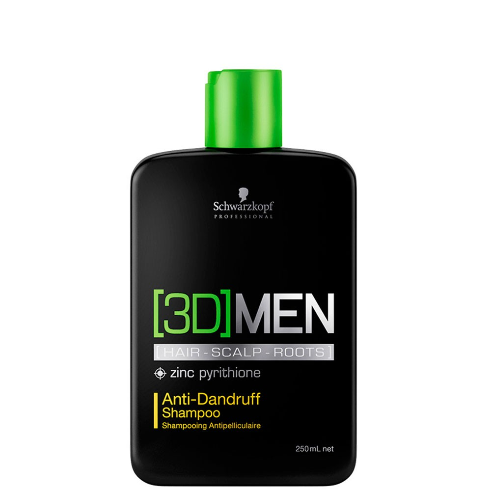3D Men Shampoo Anti-Dandruff 250ml