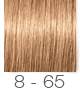 8-65 Louro Claro Marrom Dourado - Igora Royal