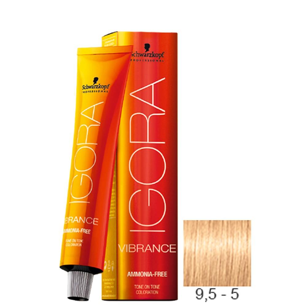 9,5-5 Louro Extra Claro Marfim Dourado - Igora Vibrance