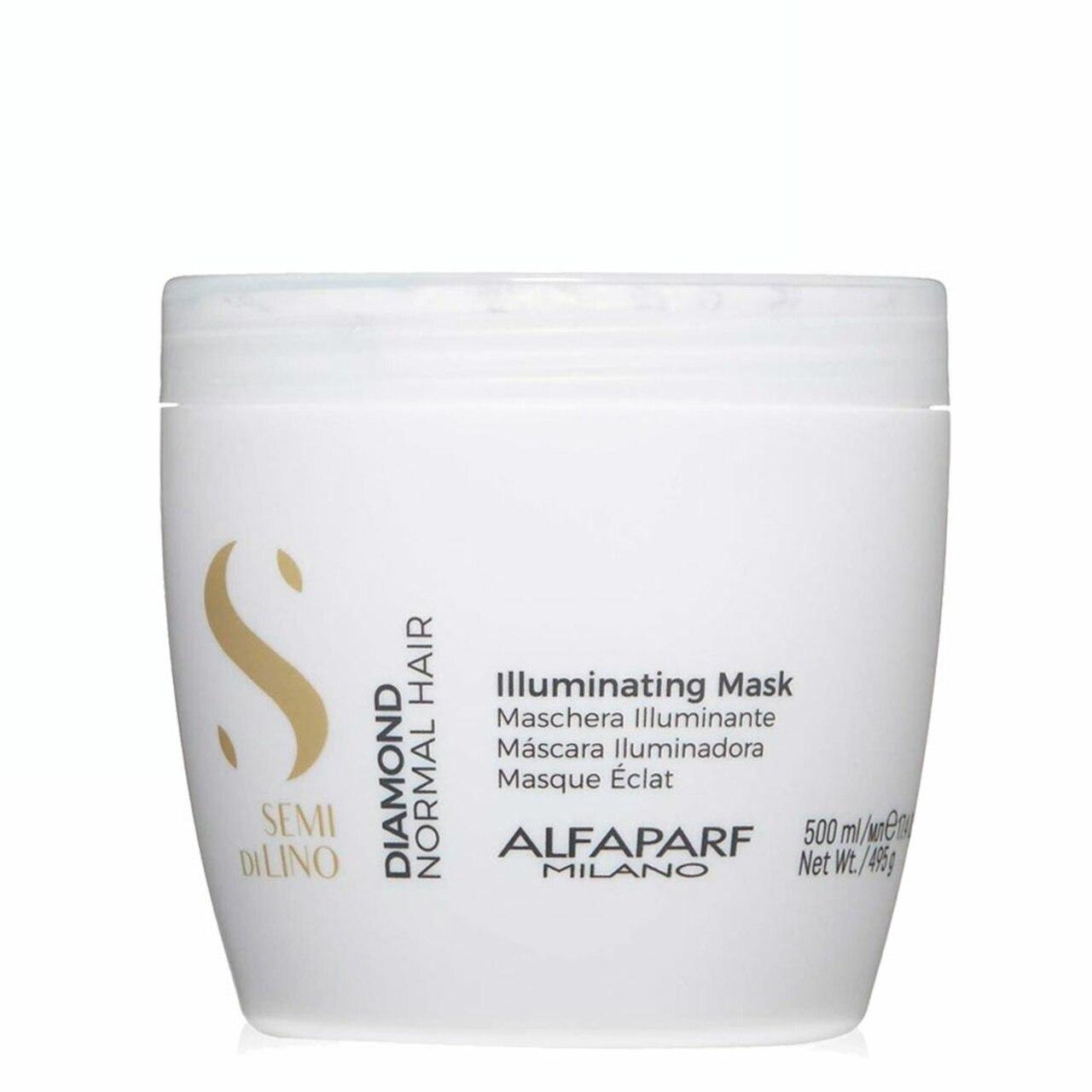 Alfaparf Milano Semi Di LINO Diamond Normal Hair Illuminating Mask 500ml/17.4fl.oz