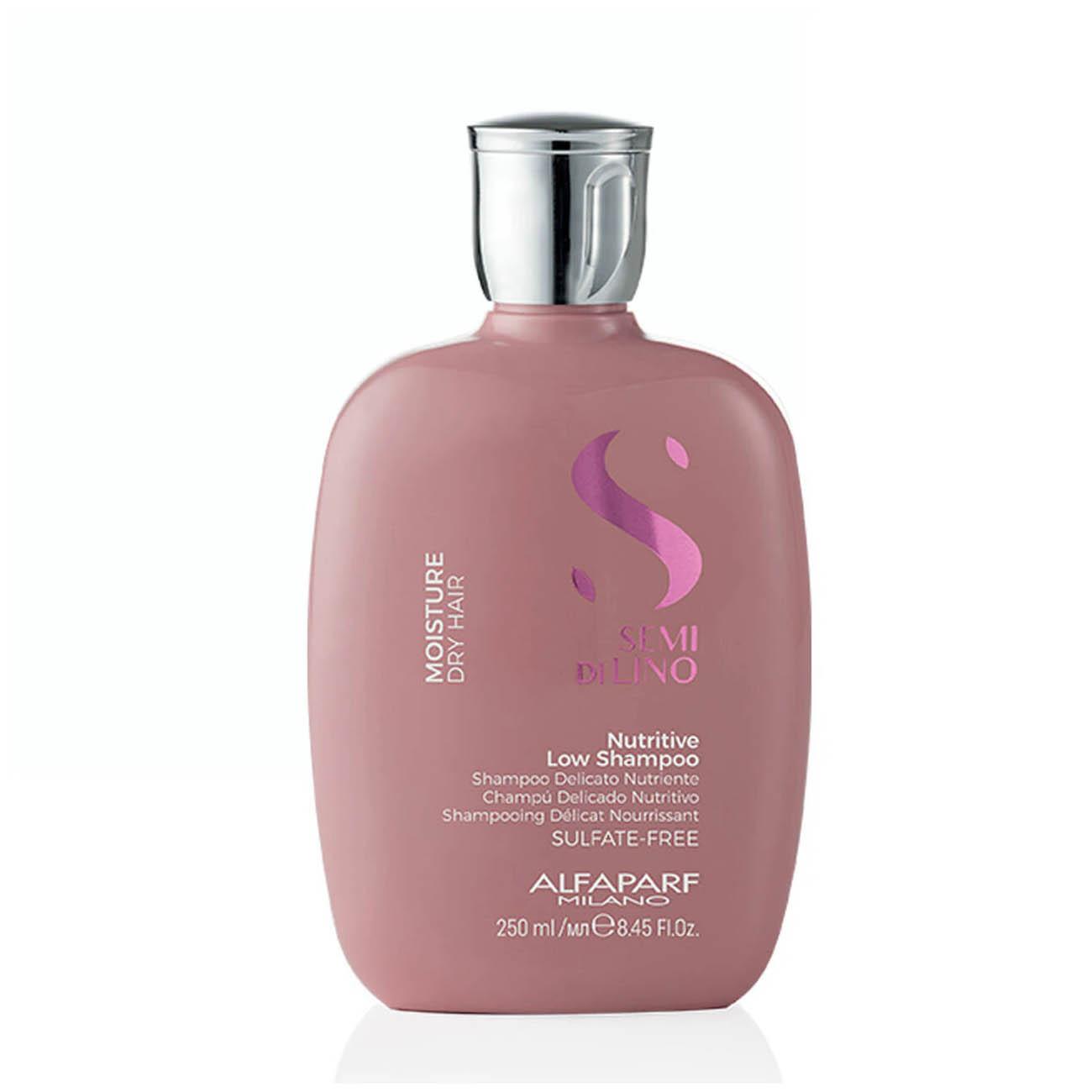 Alfaparf Milano Semi Di LINO Moisture Dry Hair Nutritive Low Shampoo 250ml/8.45fl.oz