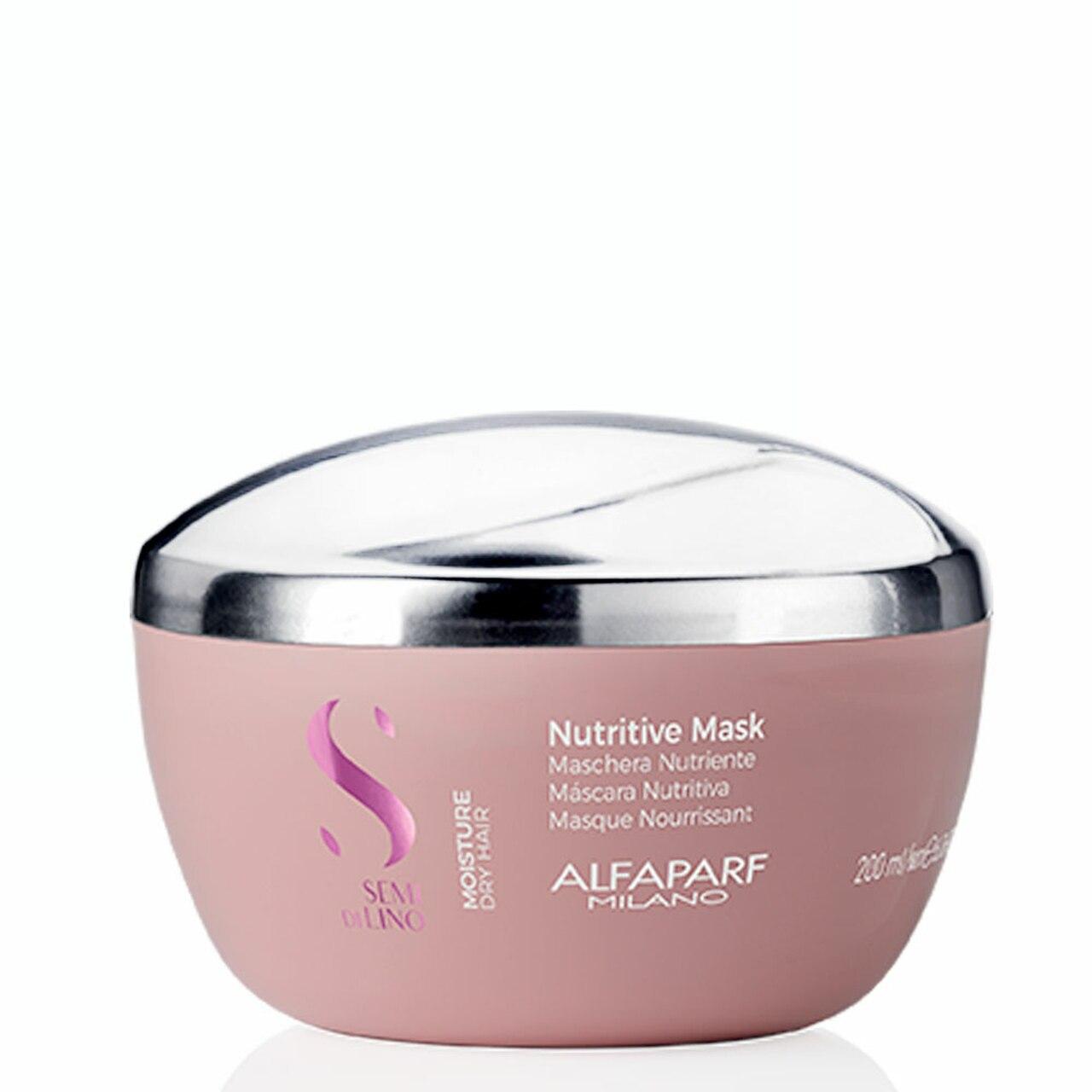 Alfaparf Milano Semi Di LINO Moisture Dry Hair Nutritive Mask 200ml/6.76fl.oz