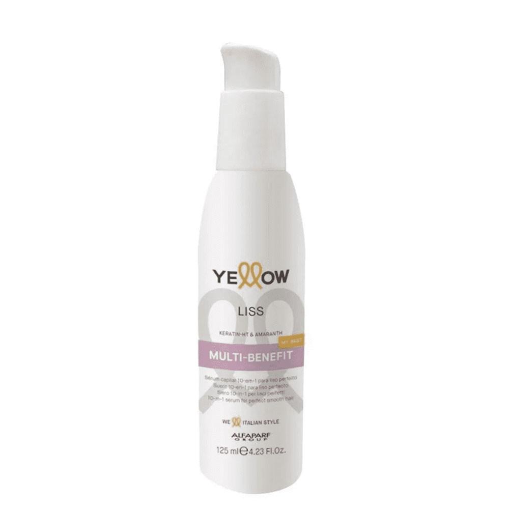 Alfaparf Yellow Liss Serum Leave-in Multi Benefícios 10em1