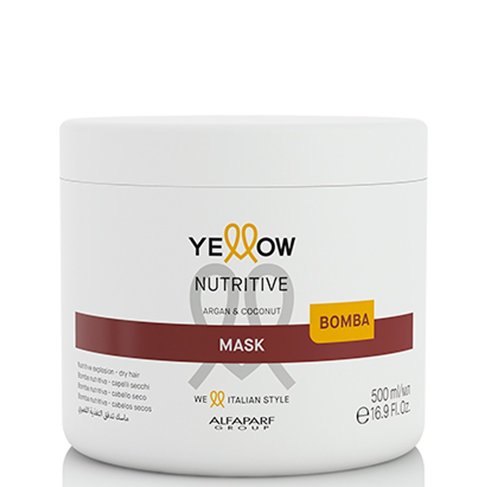 Alfaparf Yellow Nutritive Mask para Cabelos Secos 500ml