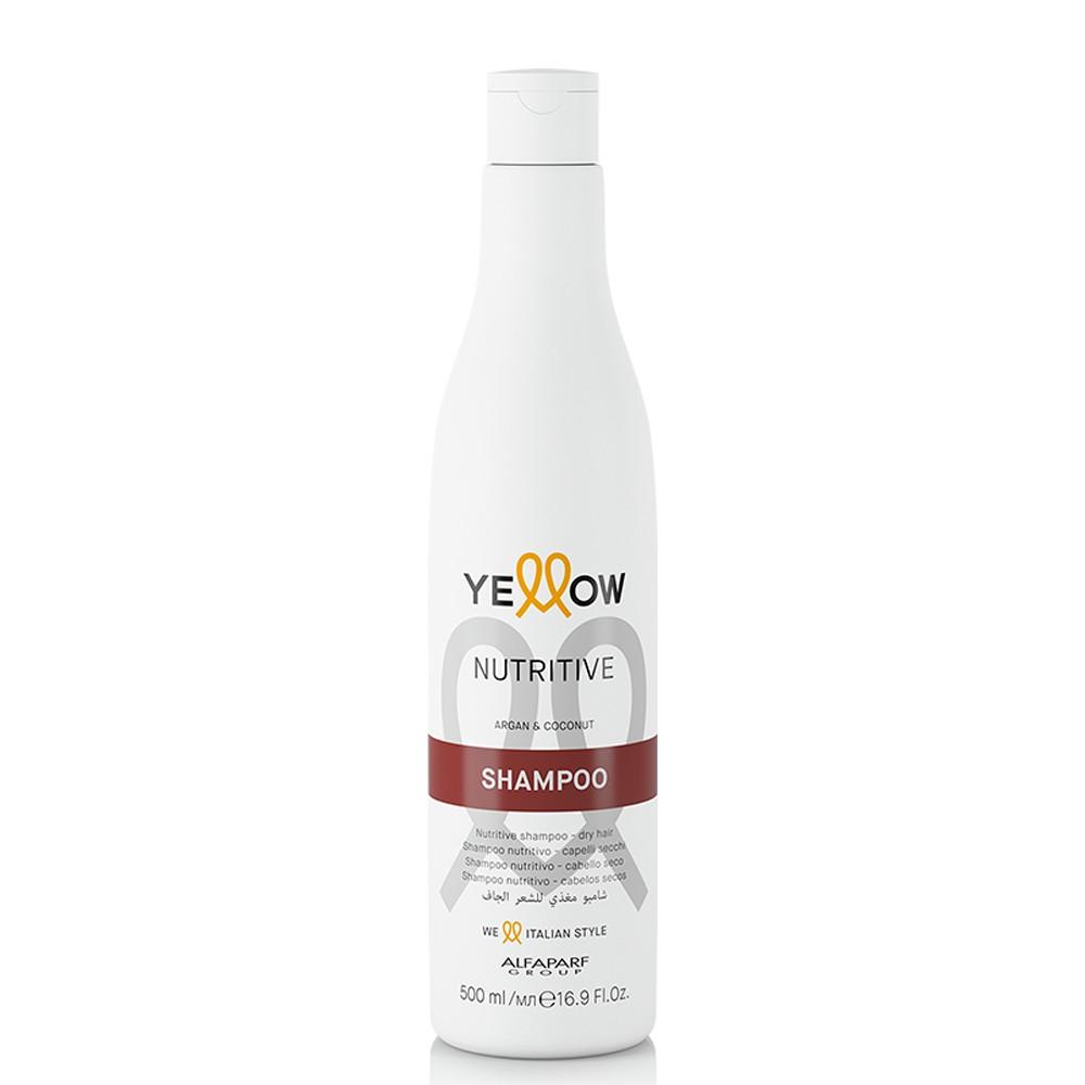 Alfaparf Yellow Nutritive Shampoo para Cabelos Secos 500ml