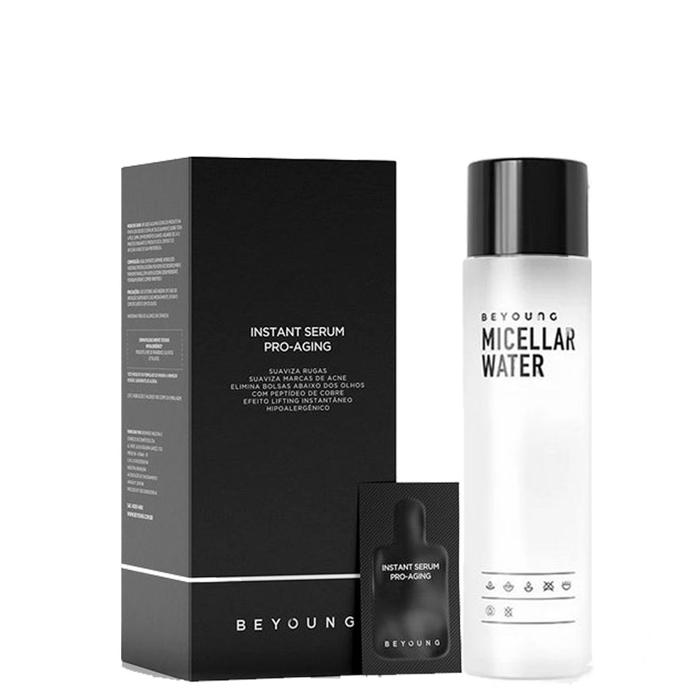 Beyoung Micellar Water 7in1 200ml + Instant Anti-Aging 21 Sachês