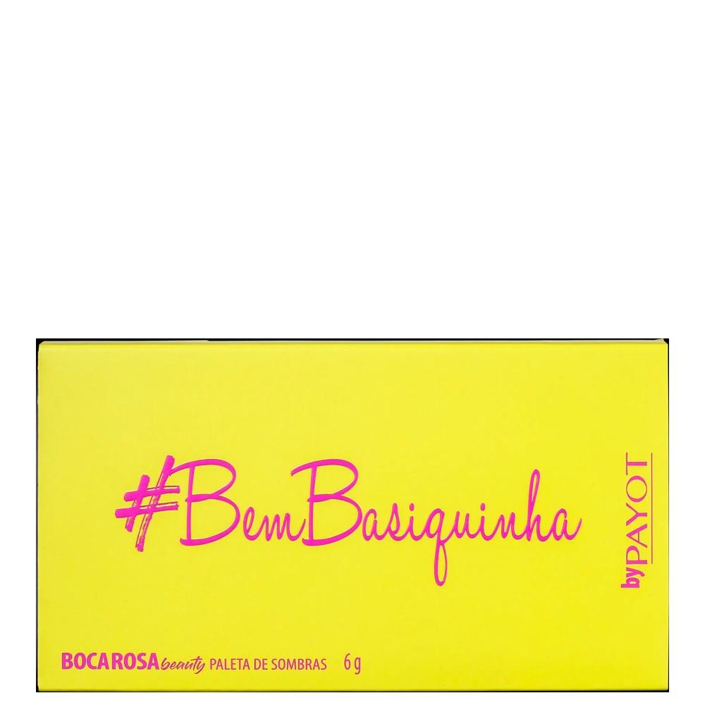 Boca Rosa Palheta de Sombra # BemBasiquinha Payot 6 Tons Tendência