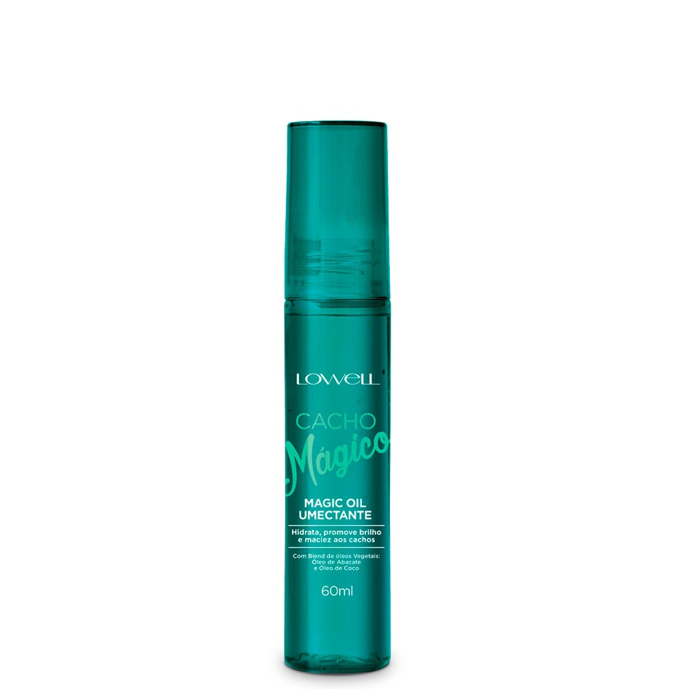 Cacho Mágico Lowell Magic Oil Umectante Óleo Hidrata 60ml