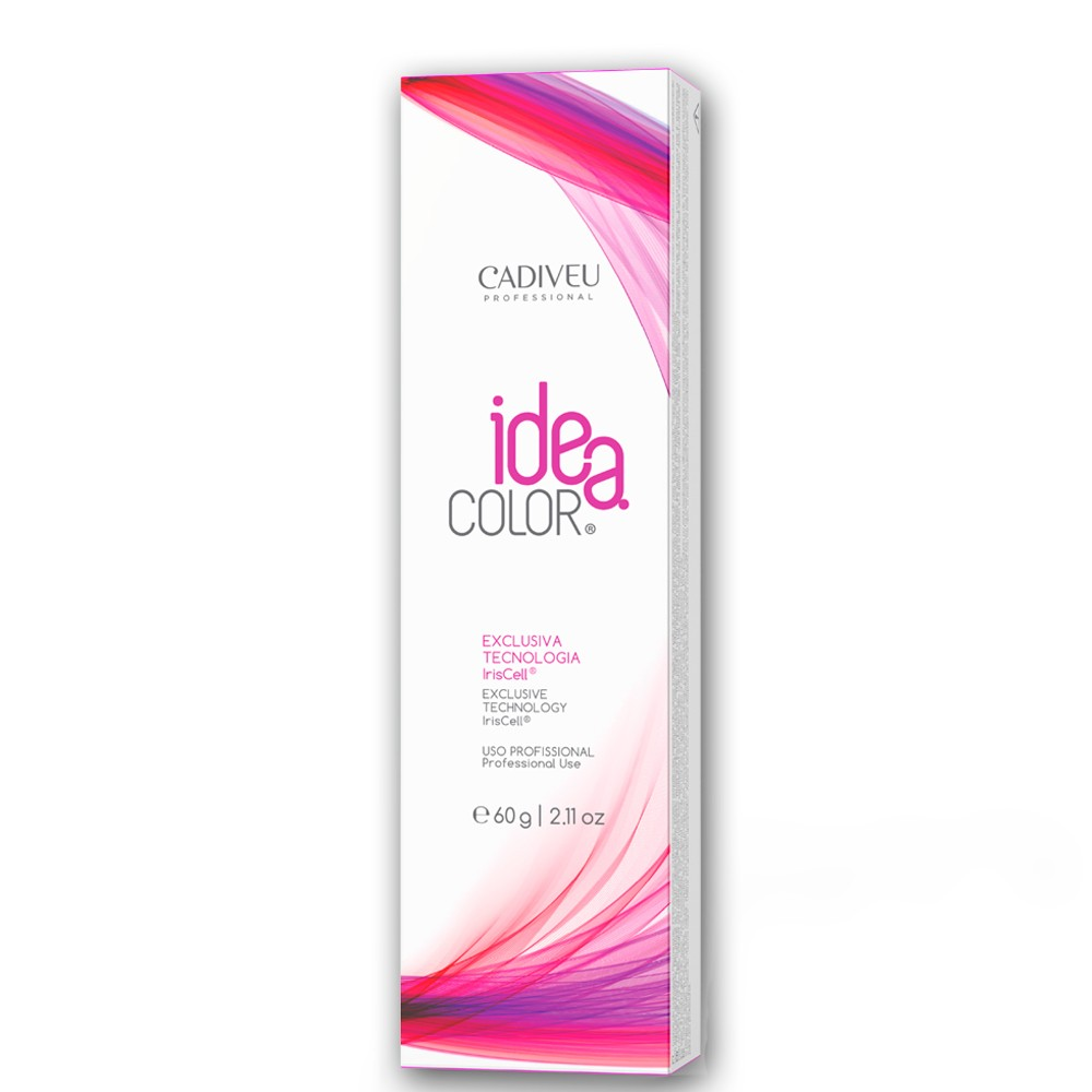 Cadiveu Idea Color 5.20 Castanho Claro Violeta Intenso 60g