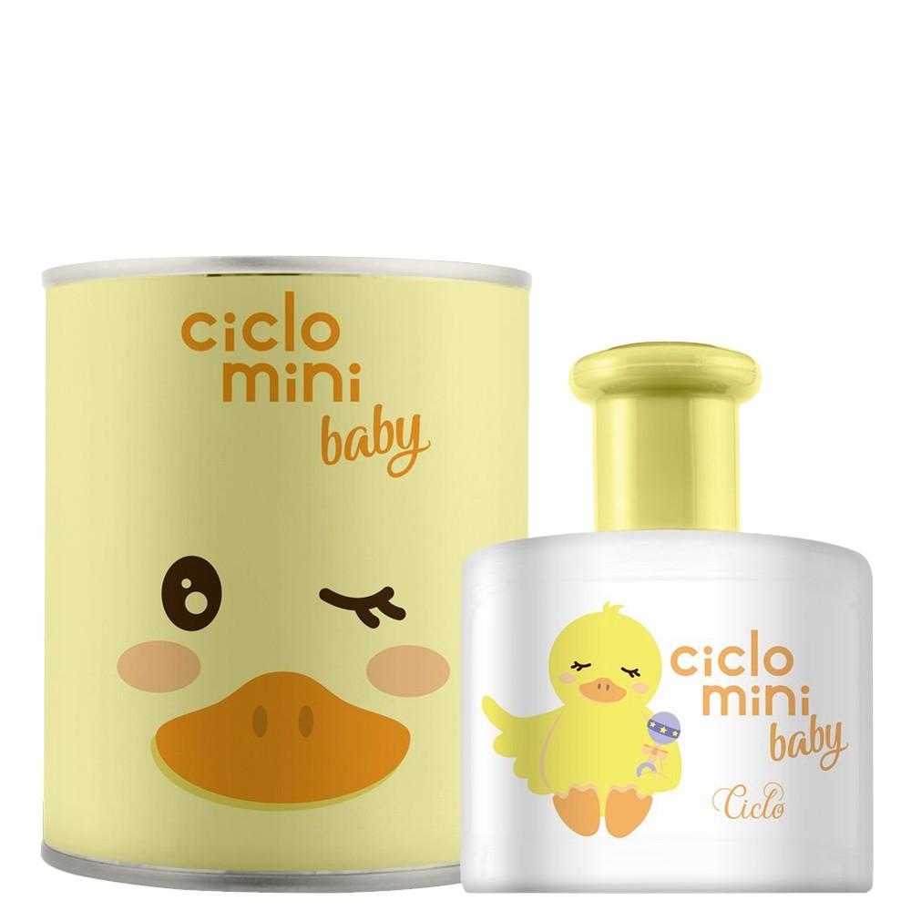 Colônia Ciclo Mini Baby QuéQué Cheirinho Harmonia Hipoalérgico