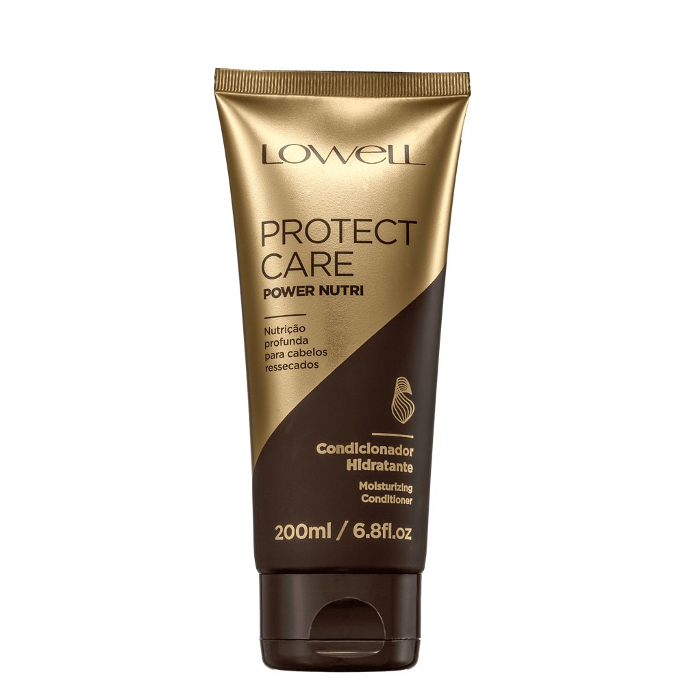 Condicionador Protect Care Lowell Power Nutrição Profunda 200ml