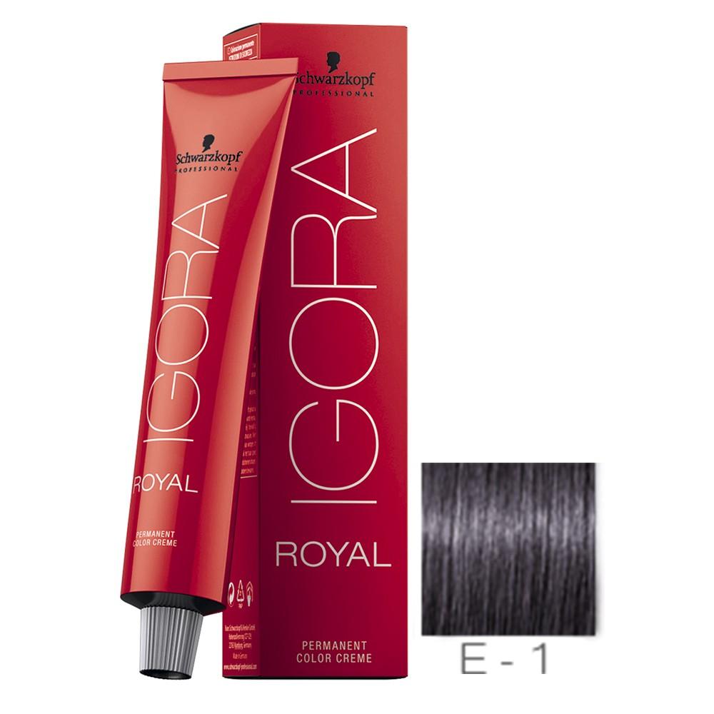 E-1 Extra Cinza - Igora Royal