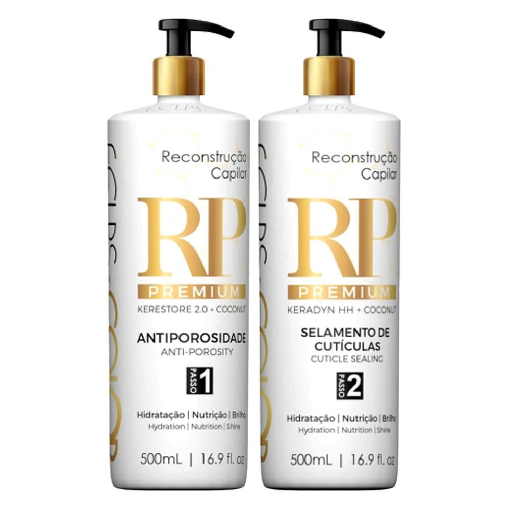 Felps Color RP Premium Tratamento Reconstrução Capilar 2x500ml/2x16.9fl.oz