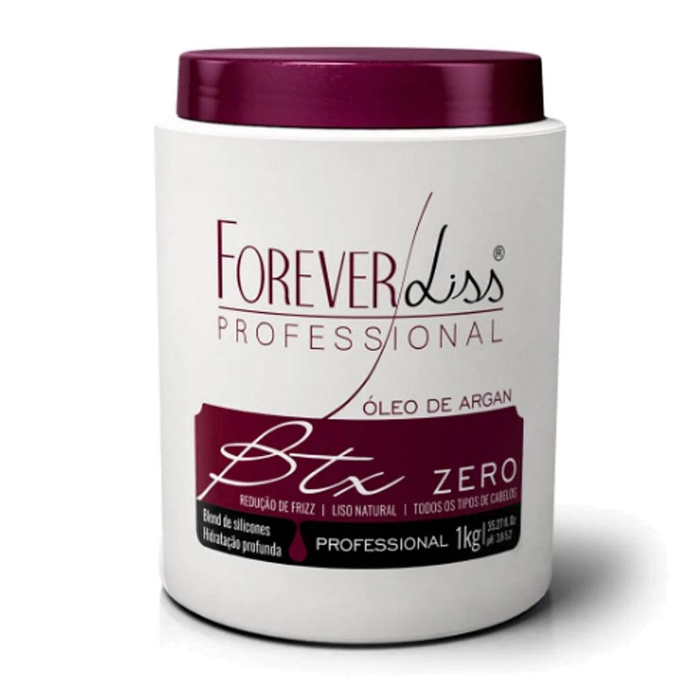 Forever Liss Btox Zero Redutor de Volume 1kg/35.2fl.oz