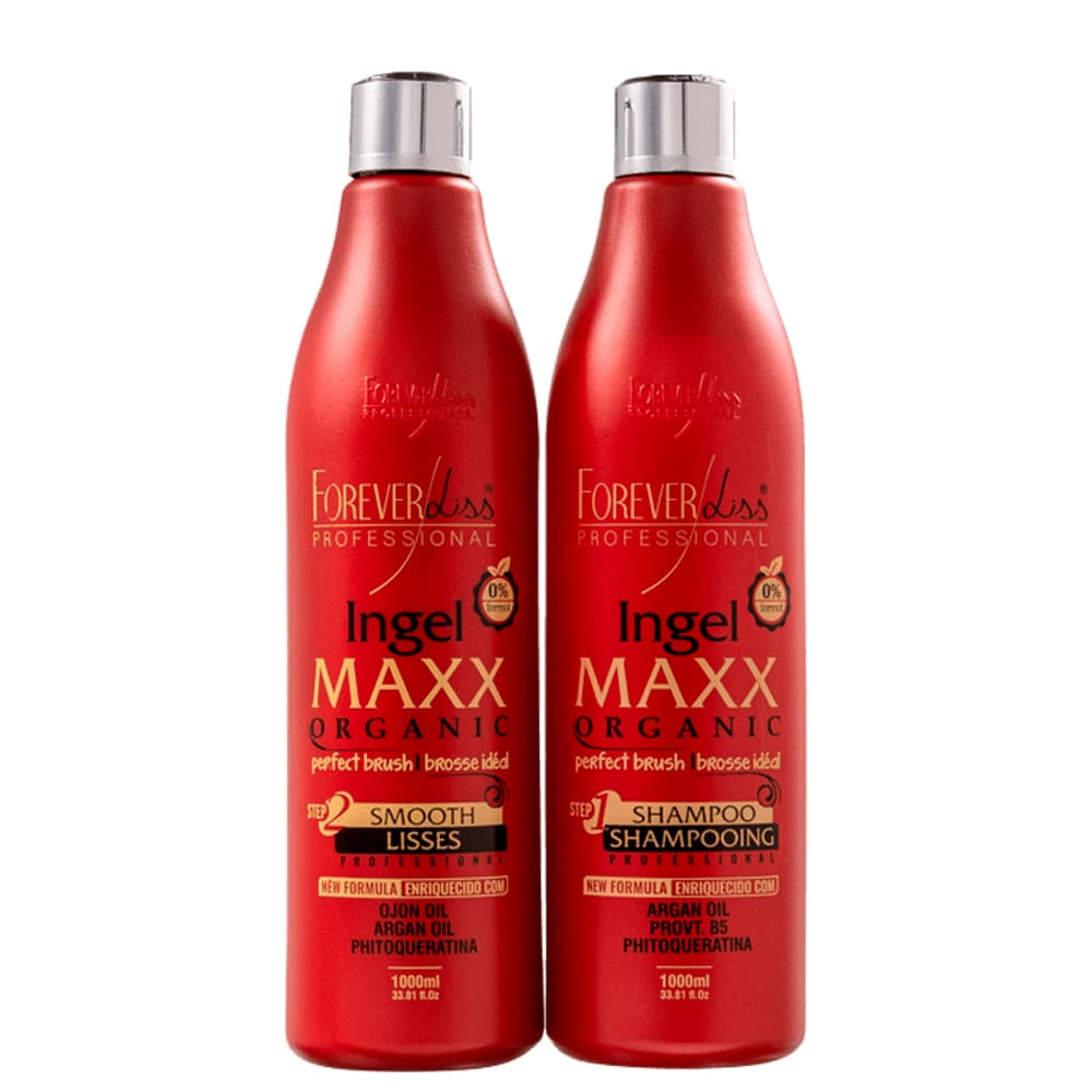 Forever Liss Smooth Lisses Ingel Maxx Organic Profissional