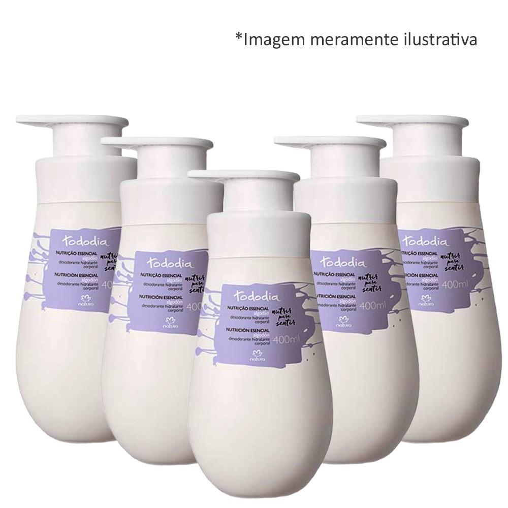 Hidratante Corporal Natura Tododia Algodão Des. 5x400ml