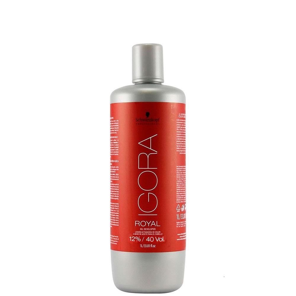 Igora Royal Água Oxigenada 1 Litro - 40 Volumes (12%)