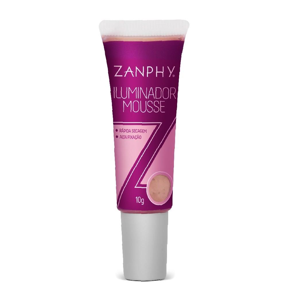 Iluminador Mousse Natural Zanphy Brilho Sofisticado Impecável