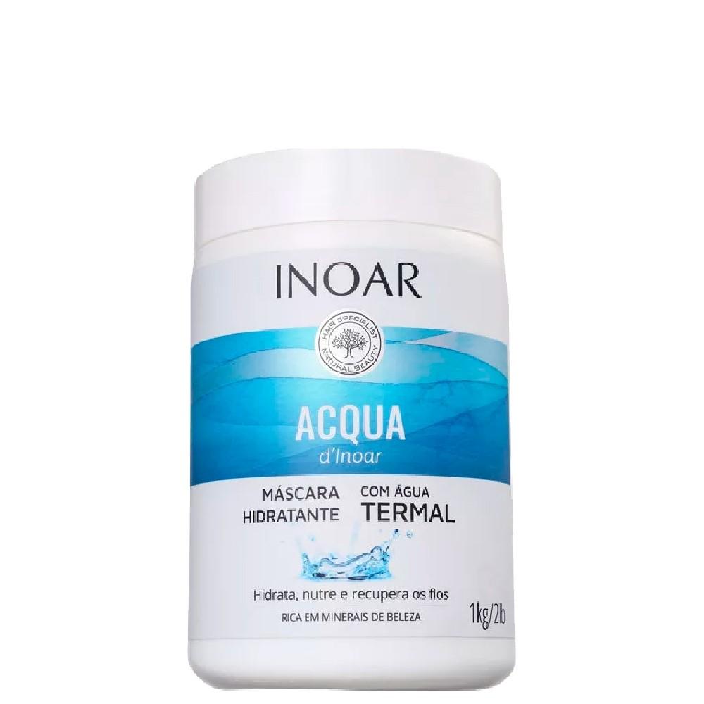 Inoar Acqua D'Inoar Máscara Hidratante c/ Água Termal 1Kg