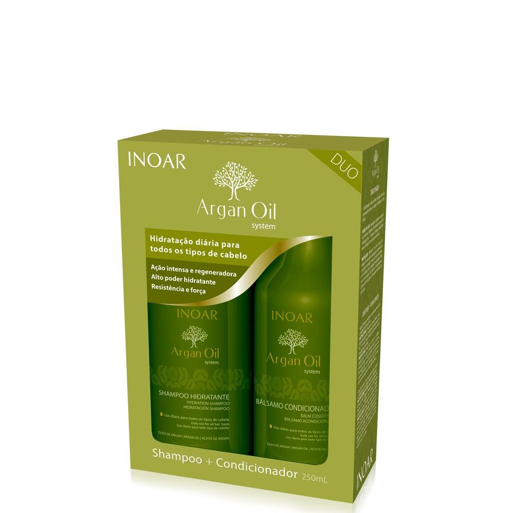 Inoar Argan Oil Kit Duo (2 Products)