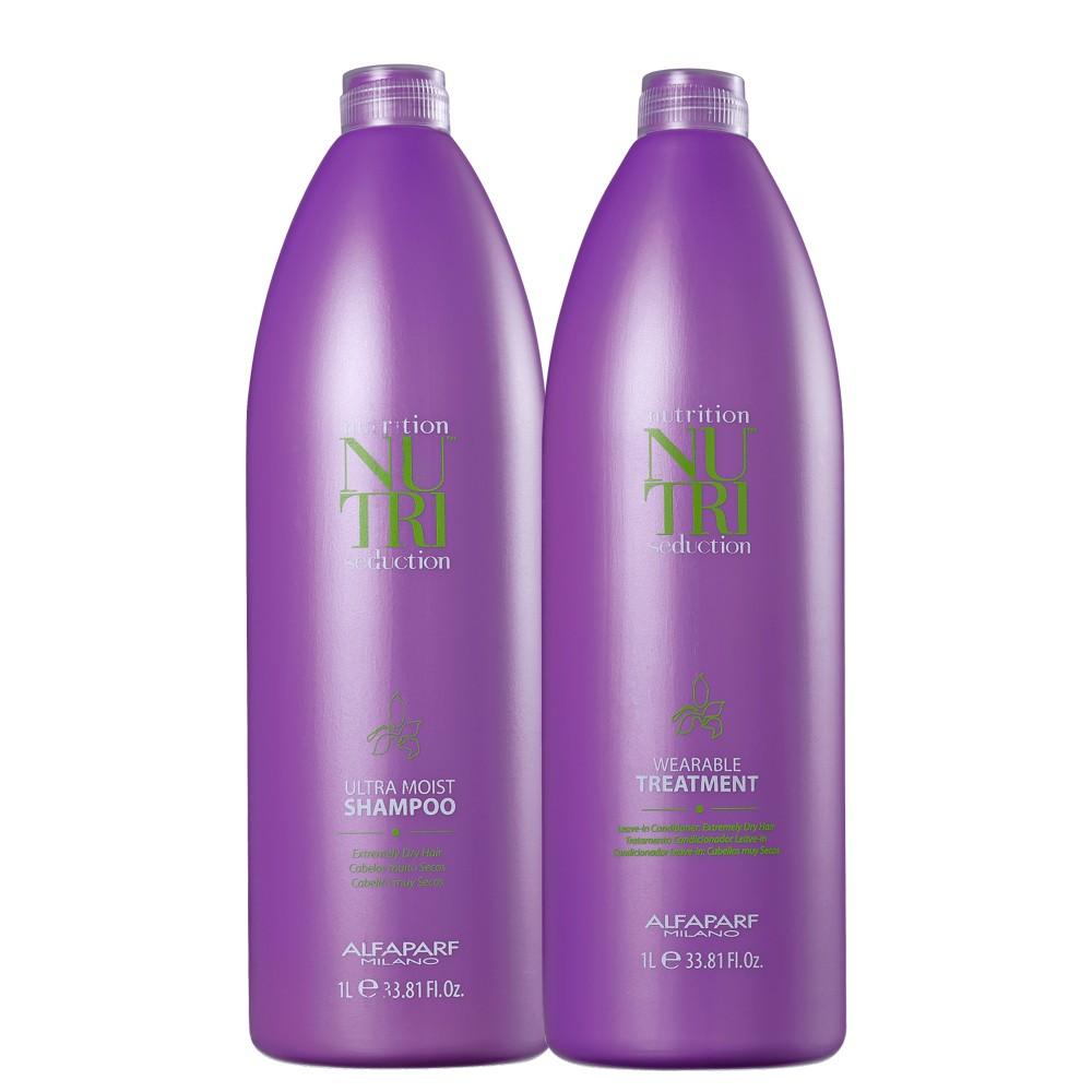Kit Alfaparf Nutri Seduction Shampoo e Condicionador 2L