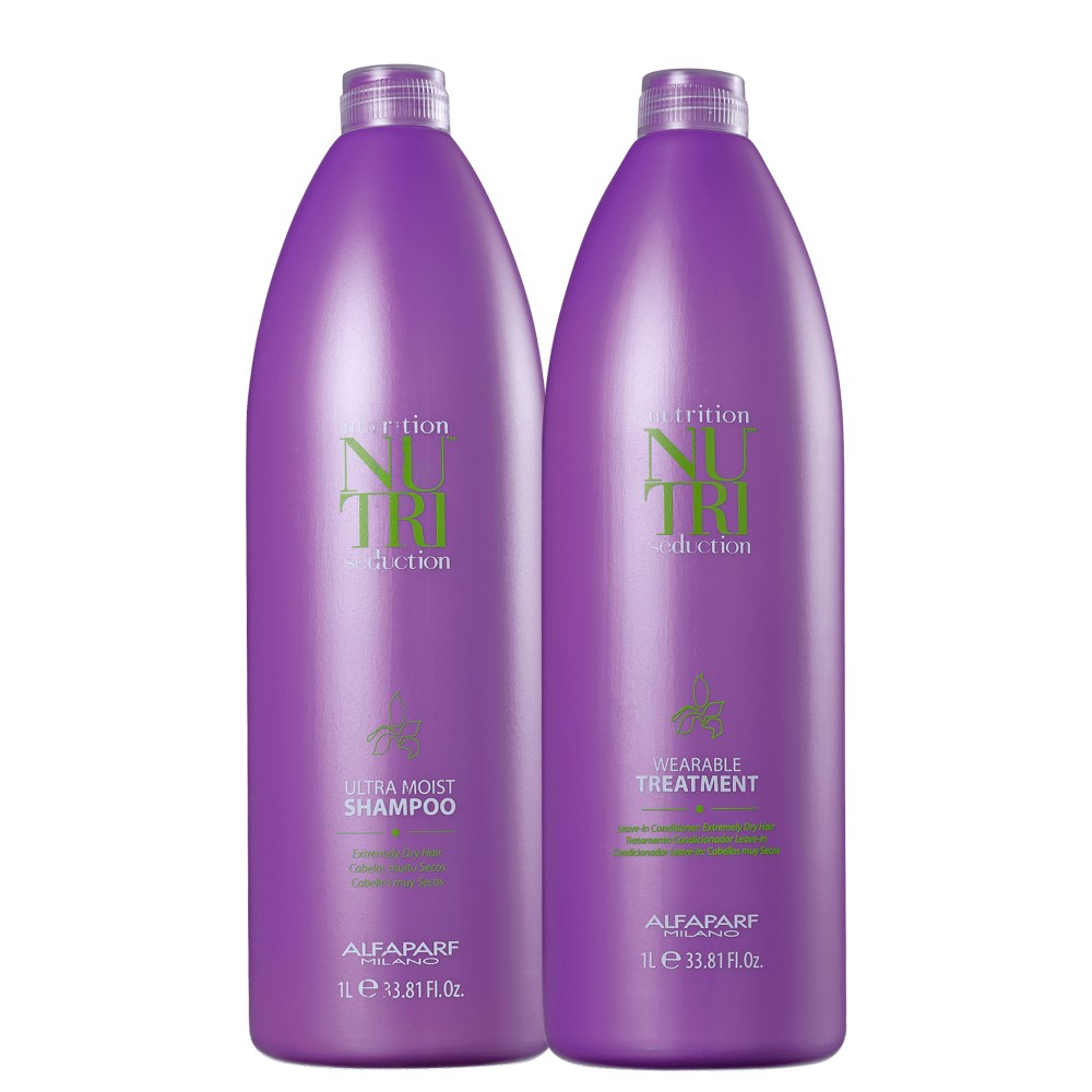 Kit Alfaparf Nutri Seduction Shampoo e Condicionador 2L