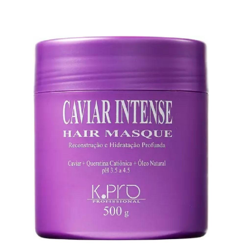 Kit KPro Caviar para Cabelo Colorido + Máscara Reconstrução