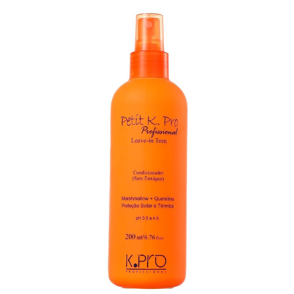 Kit KPro Petit Infantil Shampoo Condicionador e Leave-in 3Un