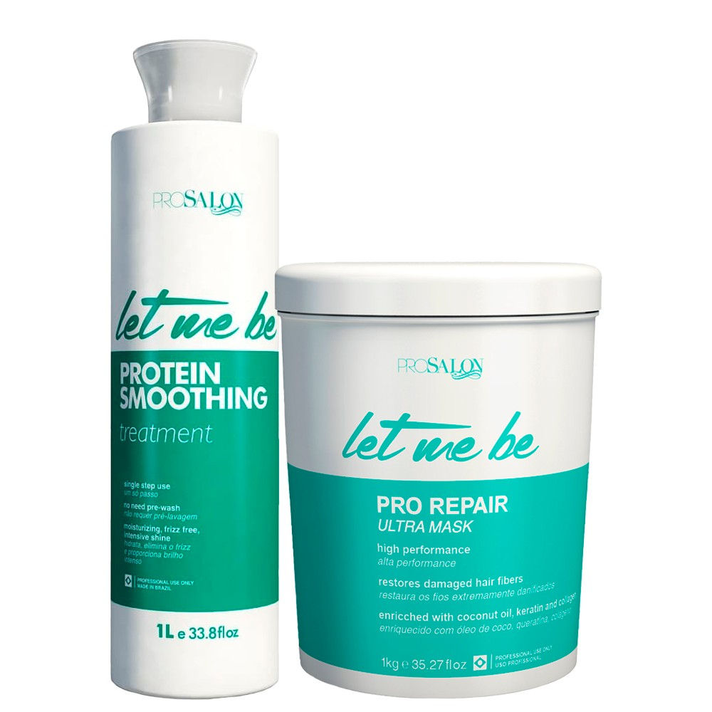 Kit Le Me Be Progressiva Protein + Btox Capilar Pro Repair