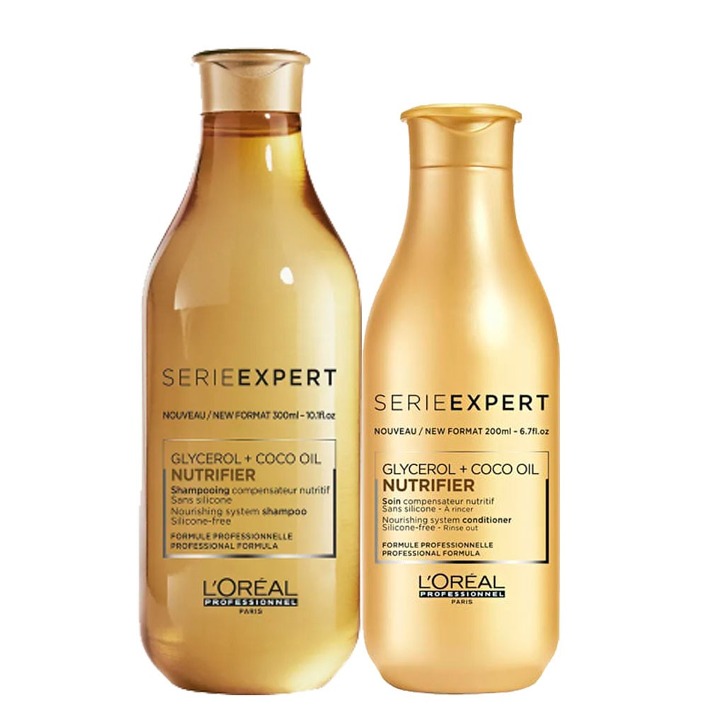 Kit Loreal Professionnel Serie Exper Nutrifier Glycerol Coco Oil