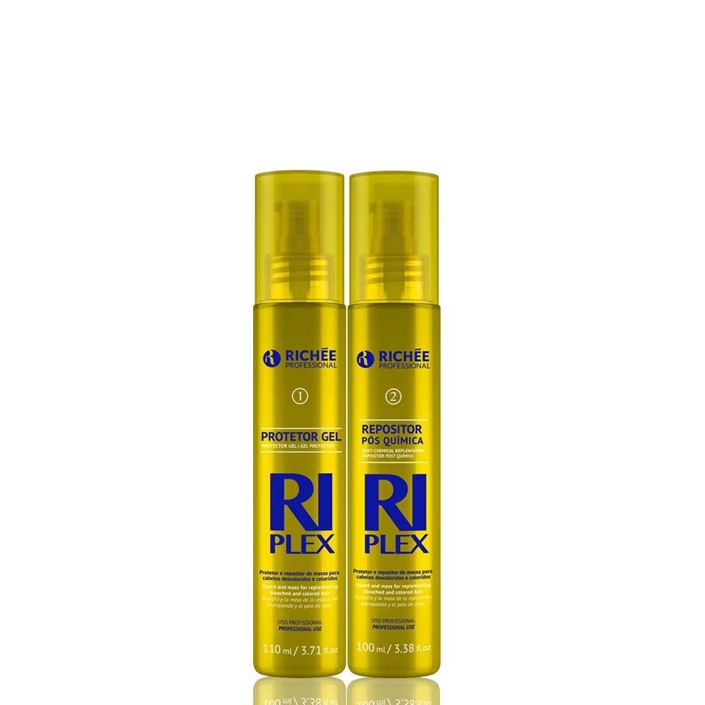 Kit Richée RiPlex Descoloração Saudável Protetor e Repositor