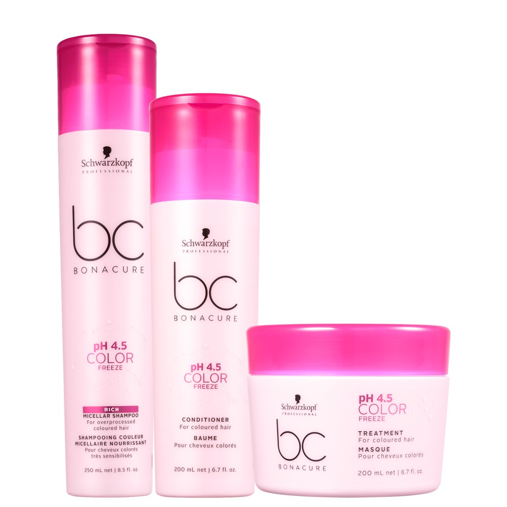 Kit Schwarzkopf Bc Bonacure Color Freeze Hidratação Completa