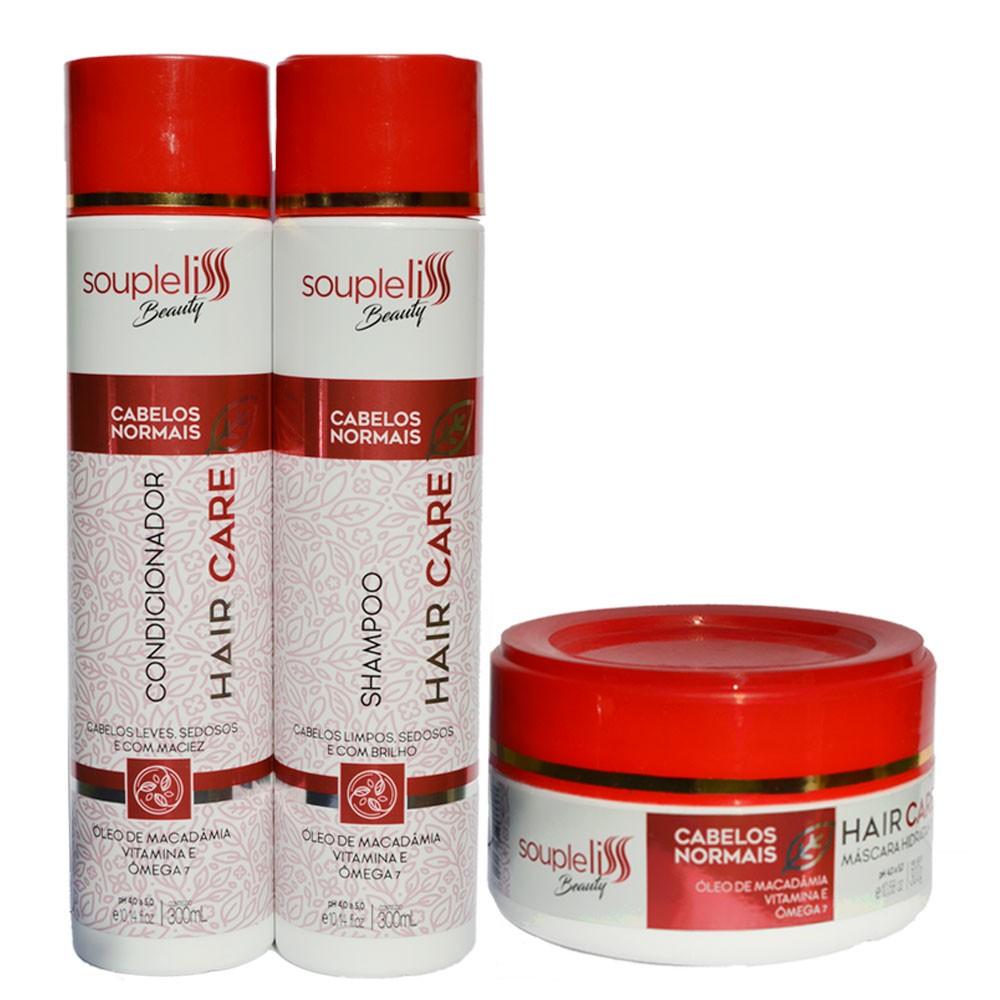Kit Soupleliss Beauty Hair Care Completo Para Cabelos Normais