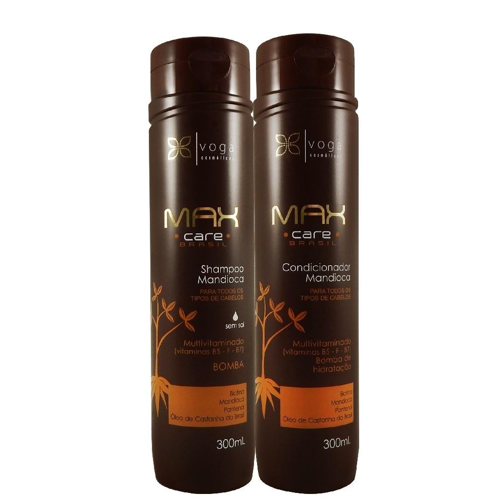 Kit Voga MC Brazil Cassava Multivitamin Shampoo + Cond. 2Un