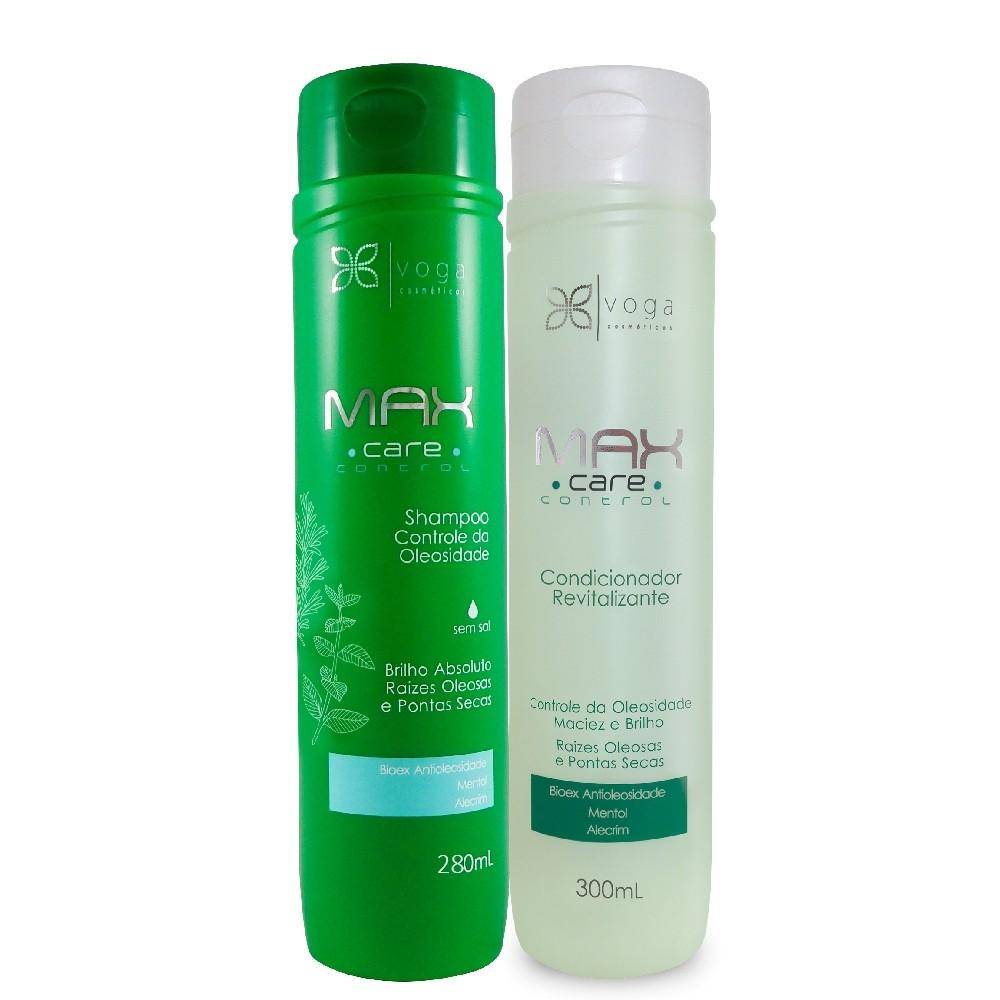 Kit Voga Shampoo C. Oleosidade + Condicionador Revitalizante