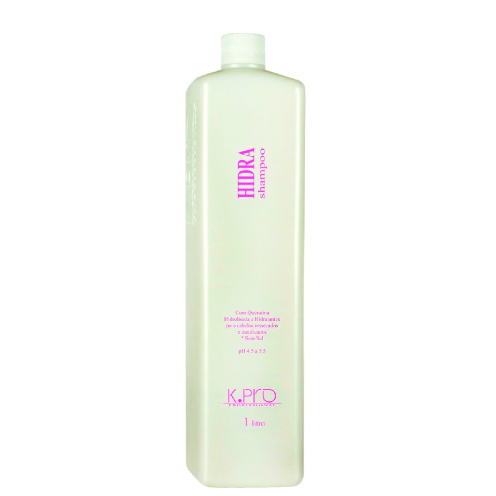 KPro Hidra Shampoo Hidratante Suave Profissional Sem Sal 1L