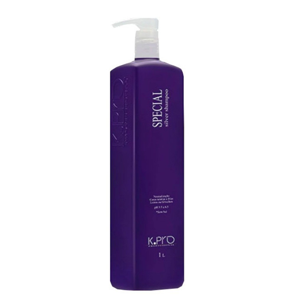 Kpro Shampoo Special Silver Ph 5.5 A 6.5 - 1 LITRO