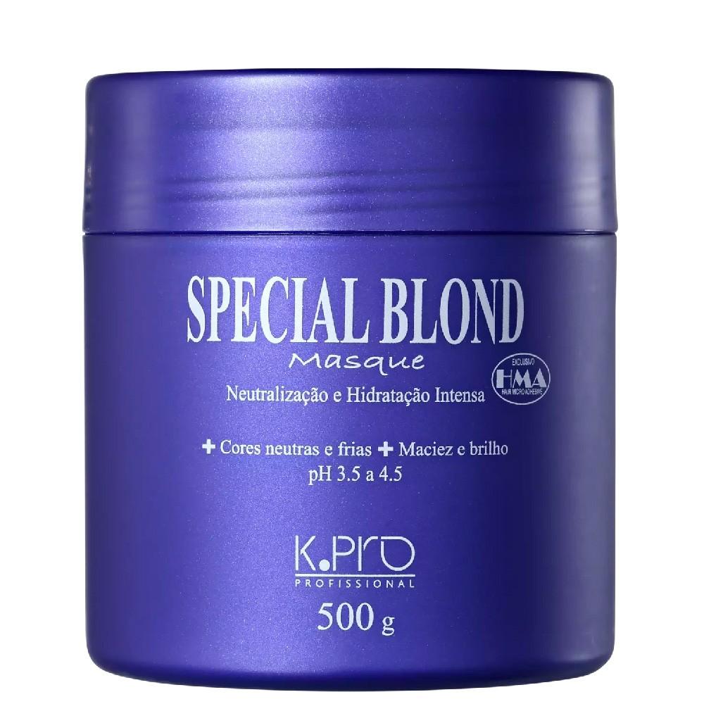 Kpro Special Blond Masque - Máscara De Tratamento - 500G