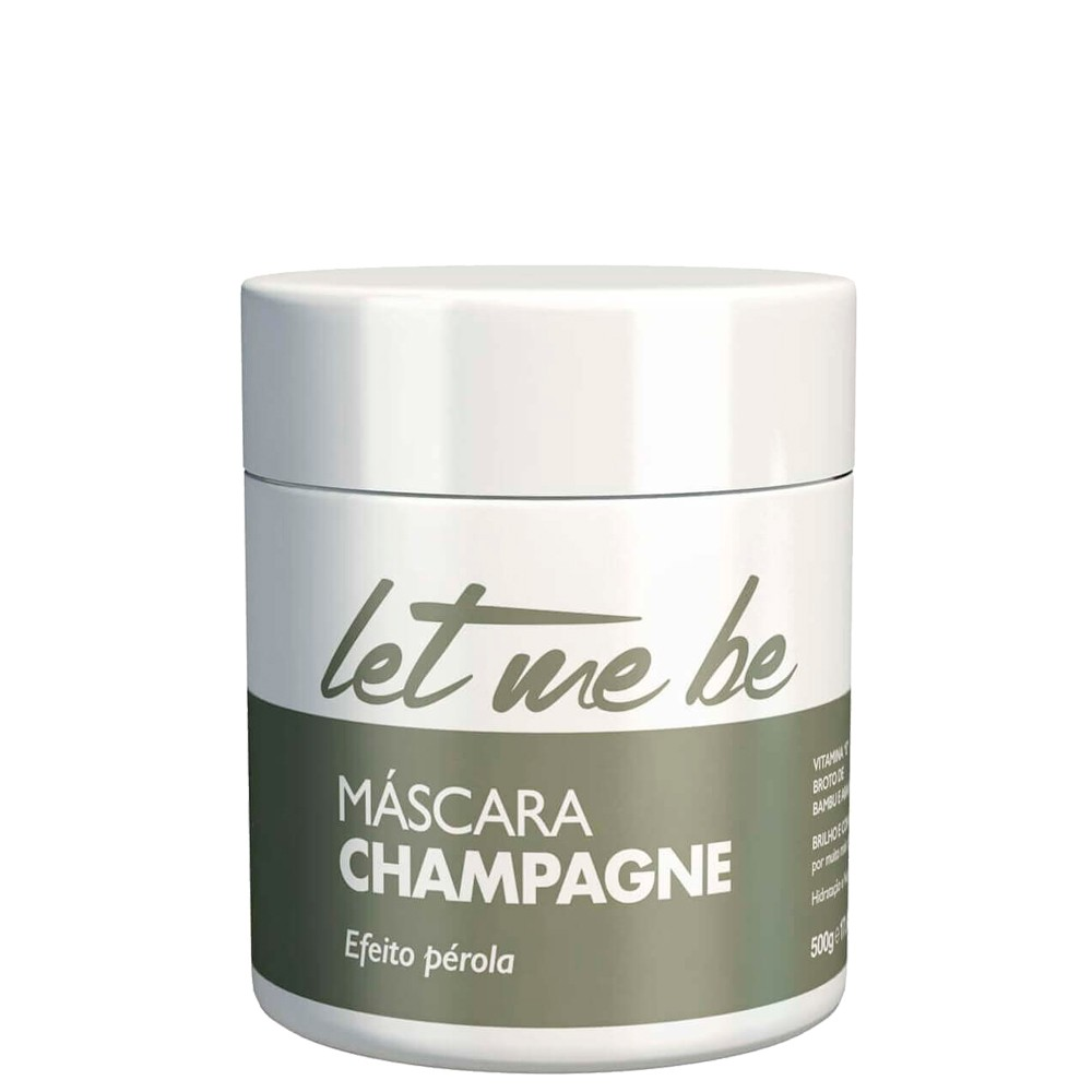 Let Me Be Mascara Champagne Nutrição Intensa Efeito Perola