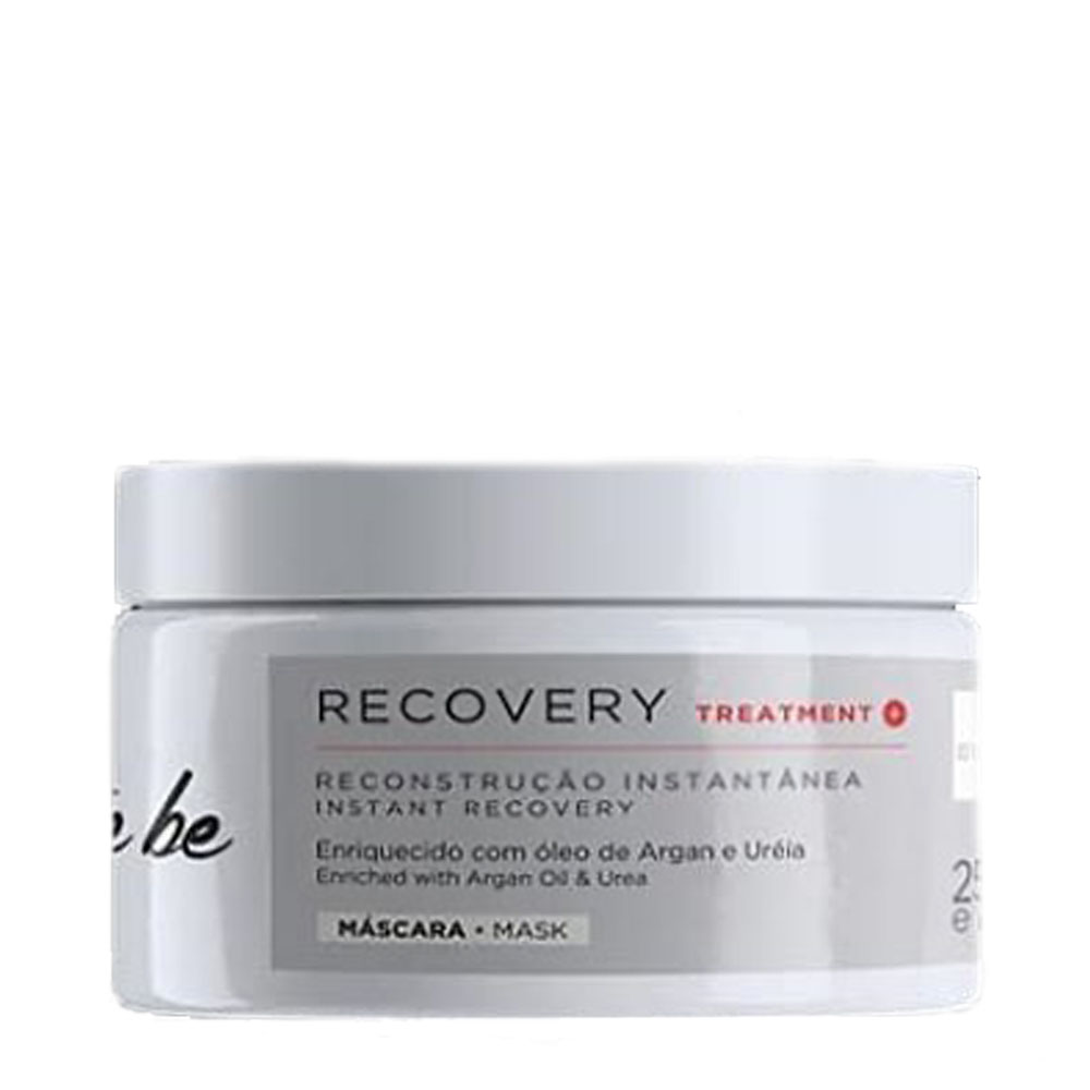Let Me Be Mascara Tratamento Fortificante Recovery Mask 250g