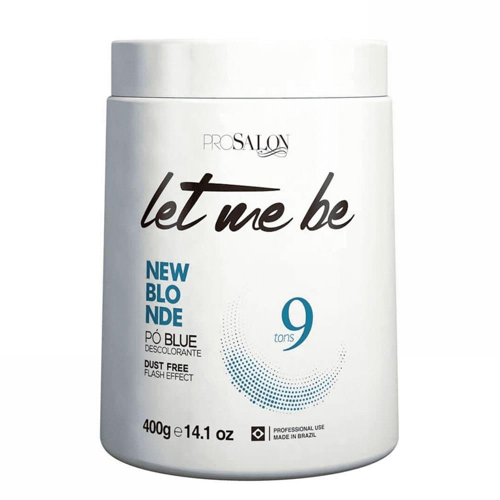 Let Me Be New Blond Pó Blue Descolorante Flash Effect Dust Free 9 Tons 400g/14.1fl.oz