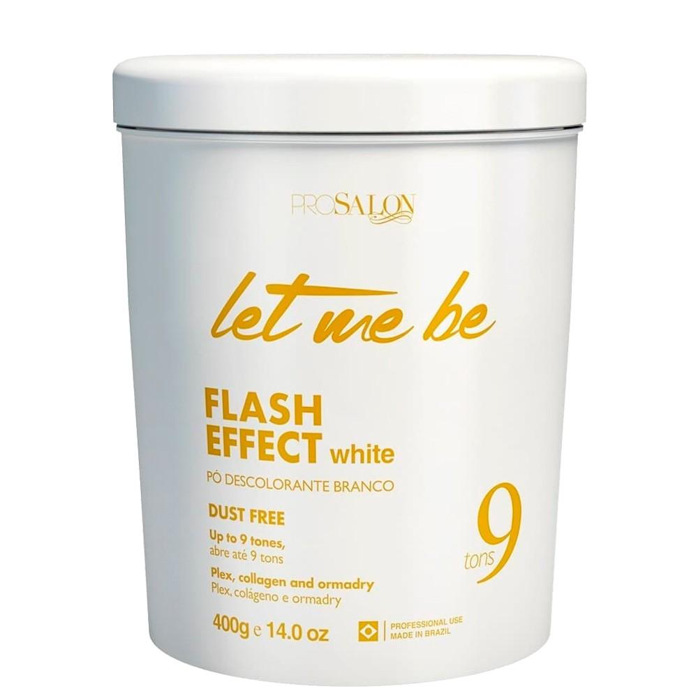 Let Me Be Pó Descolorante Branco Flash Effect Dust Free 9 Tons