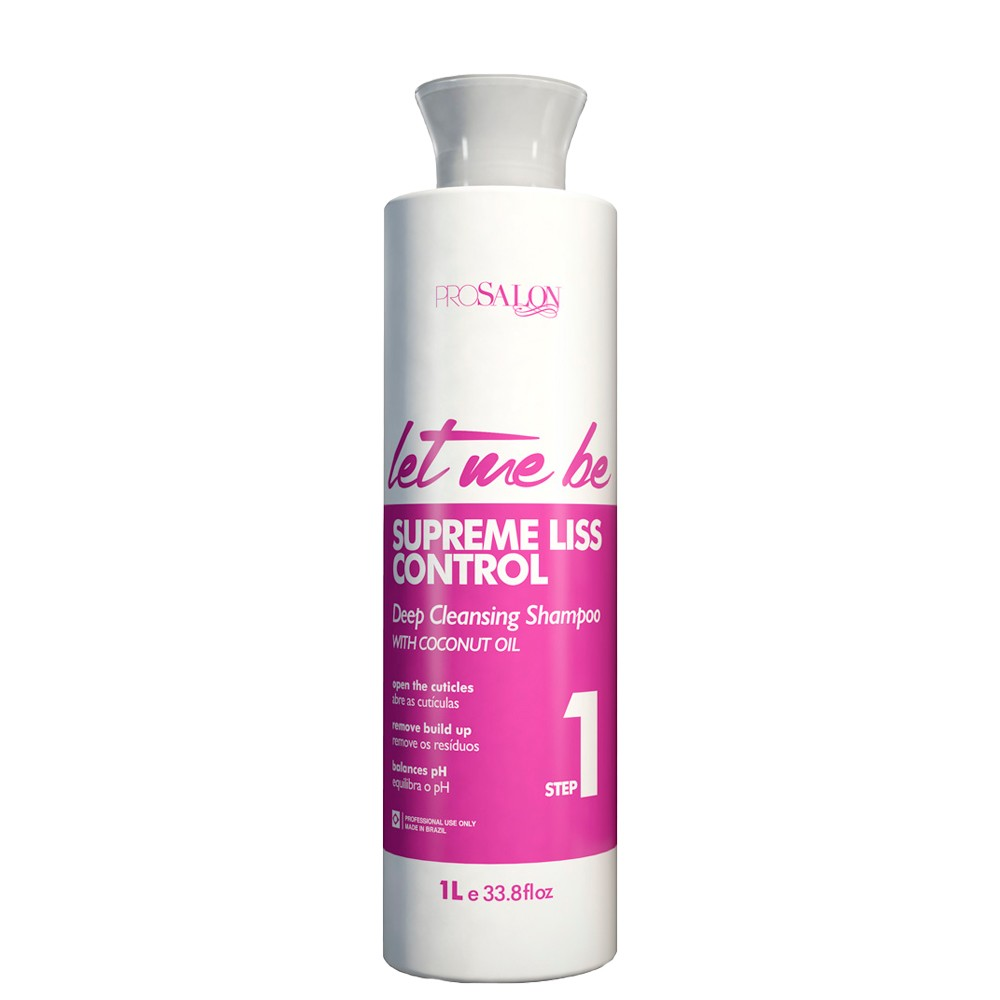 Let Me Be Shampoo Deep Cleansing Passo 1 1Litro