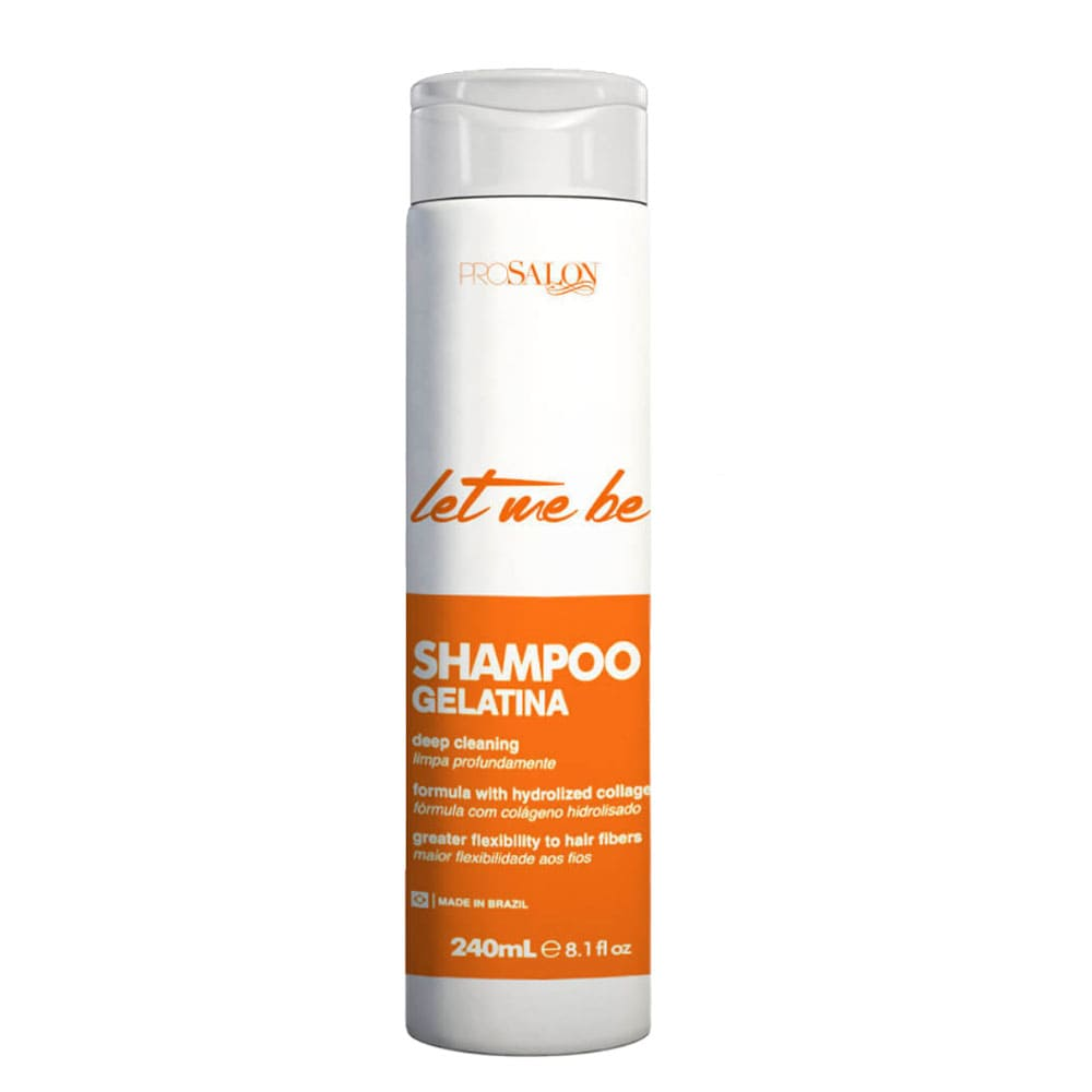 Let me Be Shampoo Gelatina Cachos 240ml/8.1fl.oz