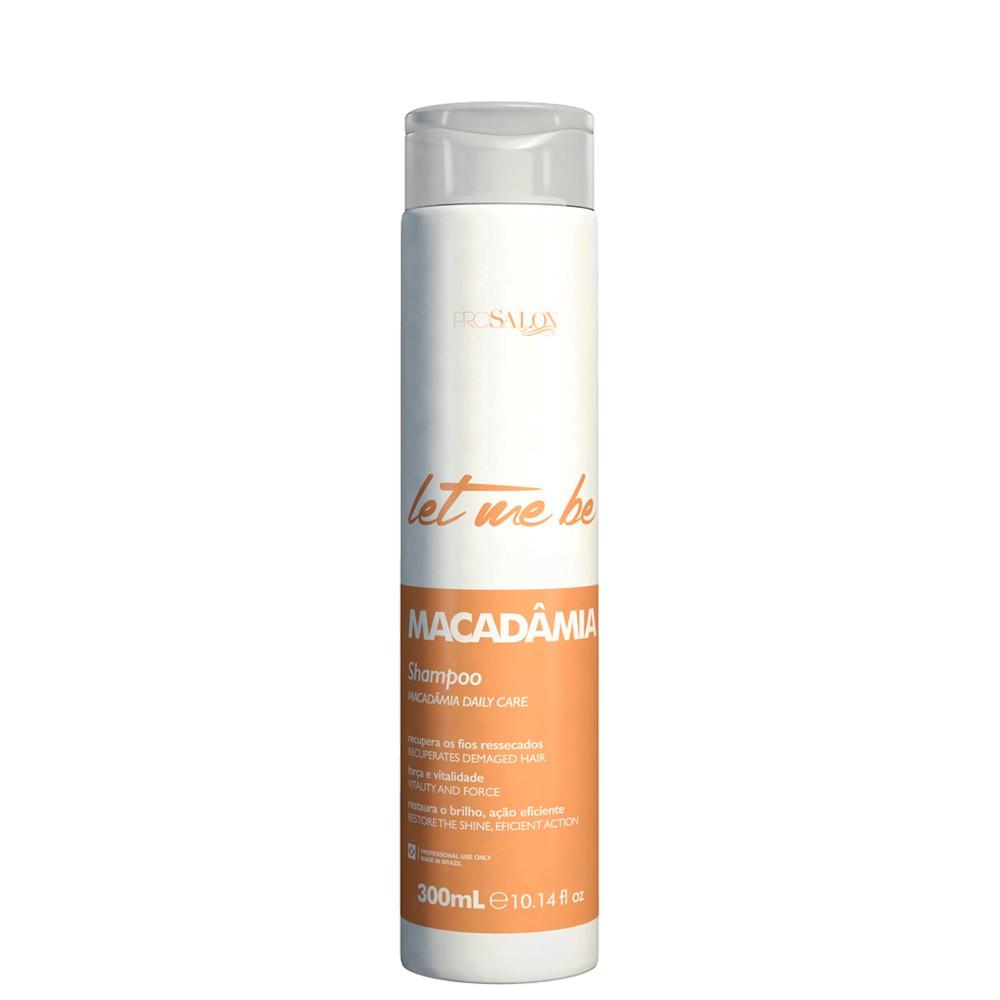 Let Me Be Shampoo Macadamia Home Care Manutenção 300ml