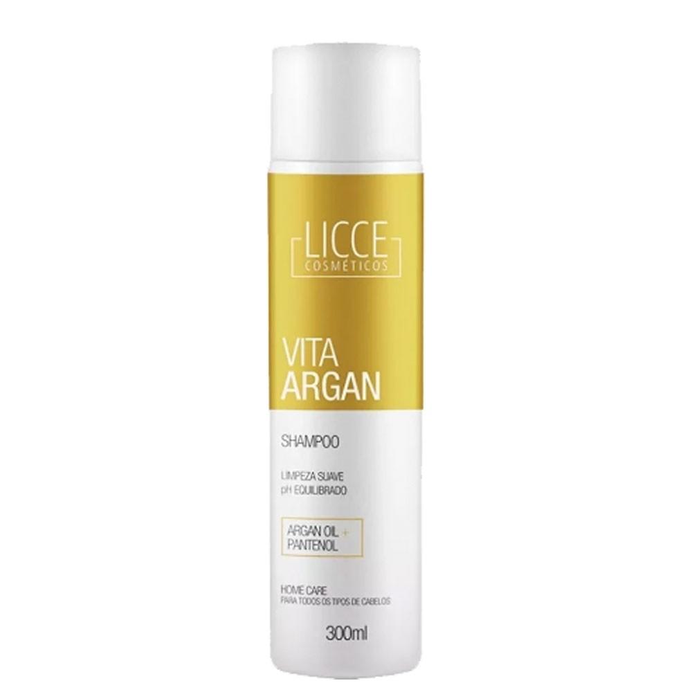 Licce Cosméticos Vita Argan Shampoo Home Care 300ml/10.01fl.oz