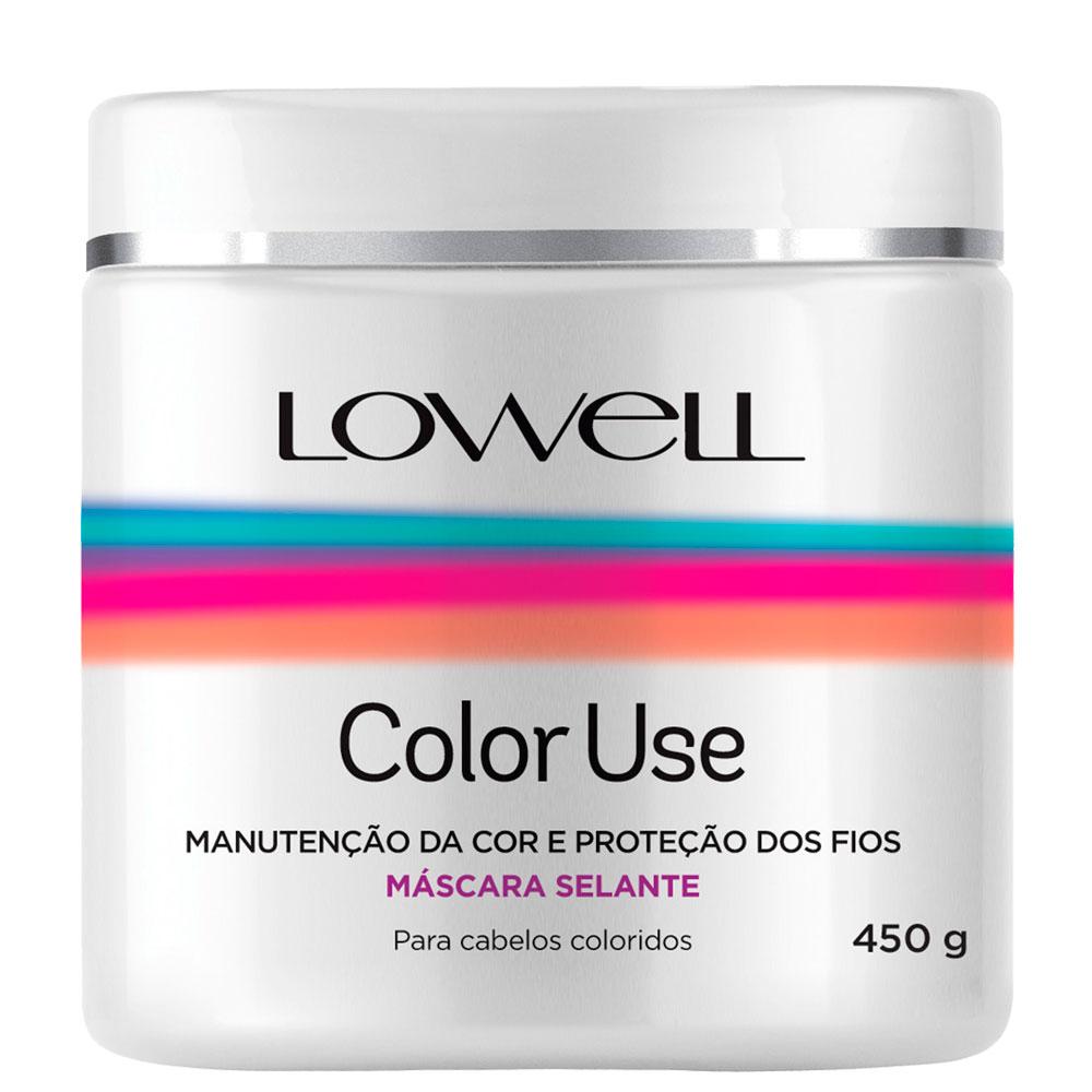 Lowell Color Use Cabelo Colorido kit Máscara + Shampoo